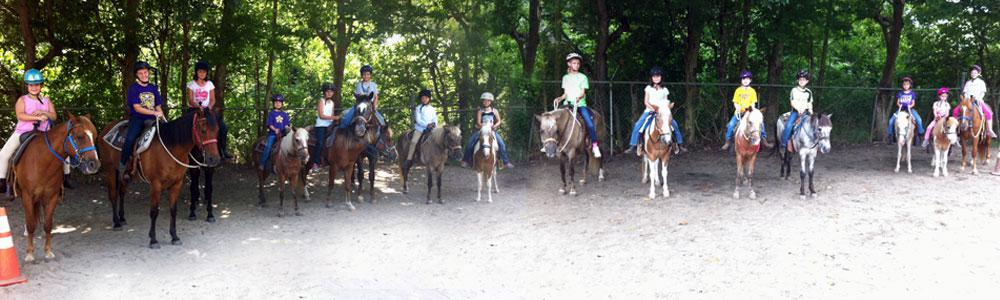 pony tales group camp